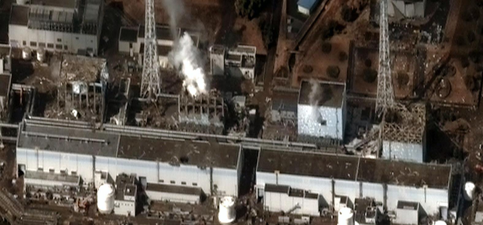 Fukushima Reaktorhavarie CC-BY-SA 3.0 von Digital Globe